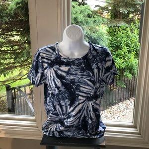 Michael Kors tie dye shirt sleeved top